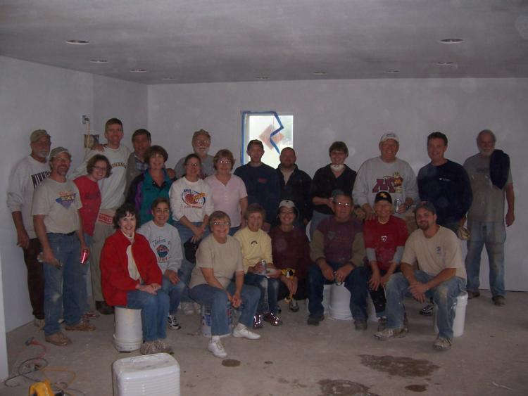 Habitat Build Day